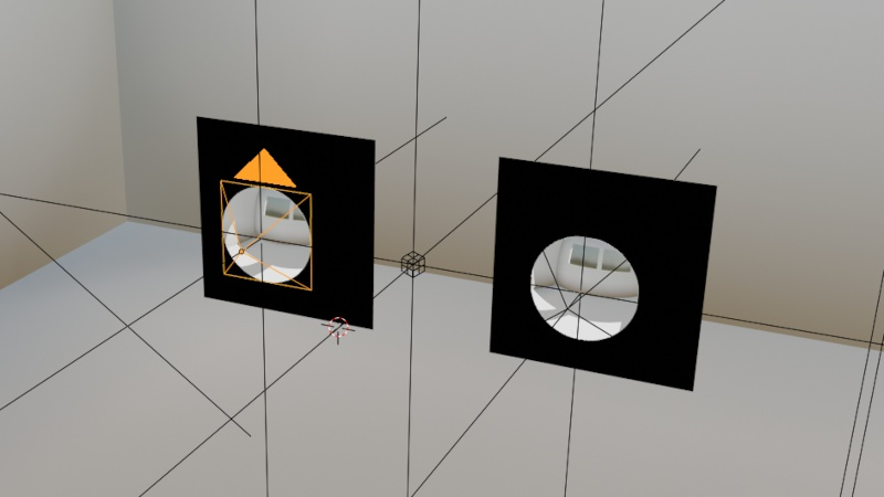using mirrors to create a fisheye like projection