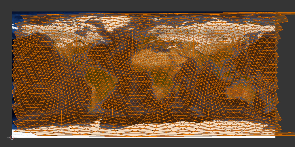 texturemapping on a world map